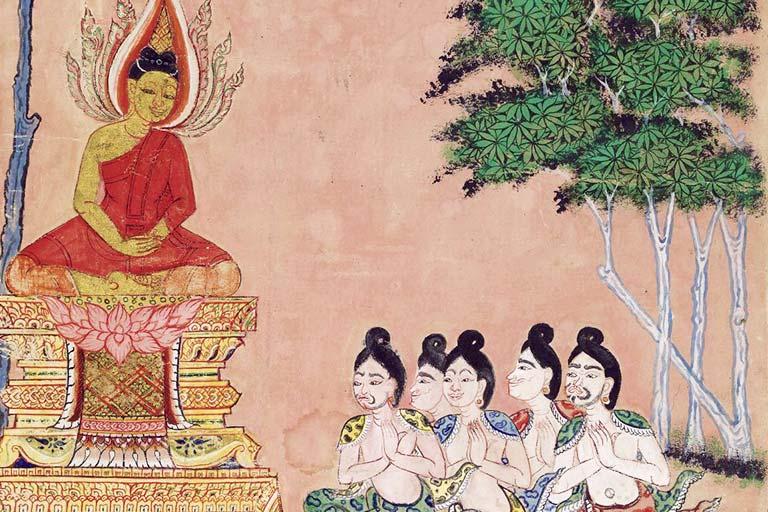 תלמידיו של הבודהה