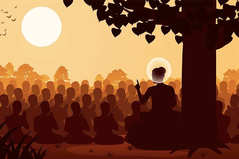 הדרשה של הבודהה