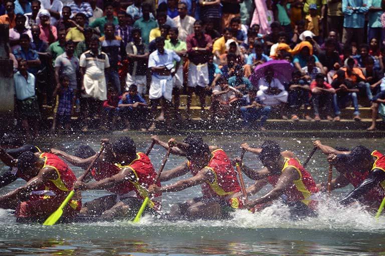 תחרות סירות בהודו
