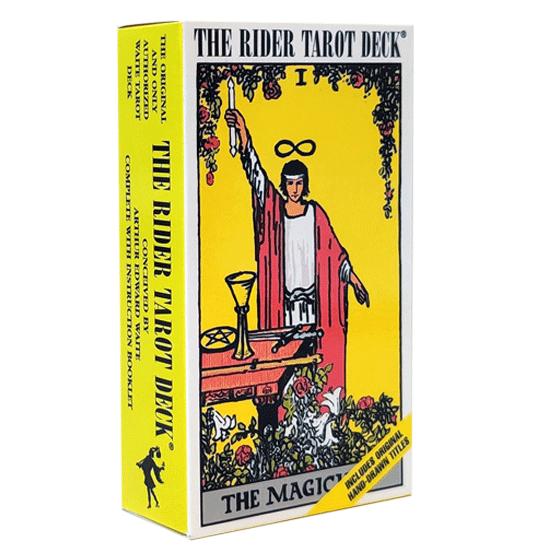 חבילת קלפי טארוט ריידר אנגלית
