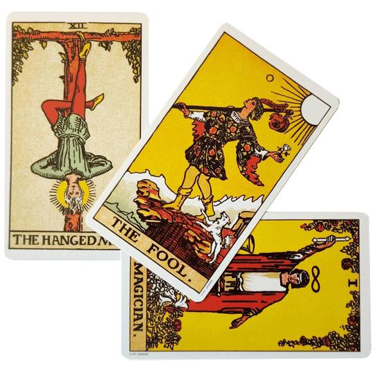 קלפים טארוט ריידר אנגלית