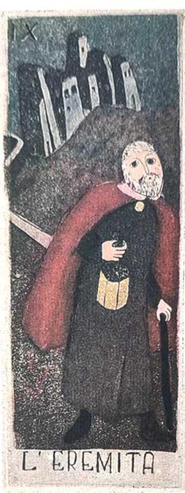 קלפי טארוט נדירים La Corte dei Tarocchi