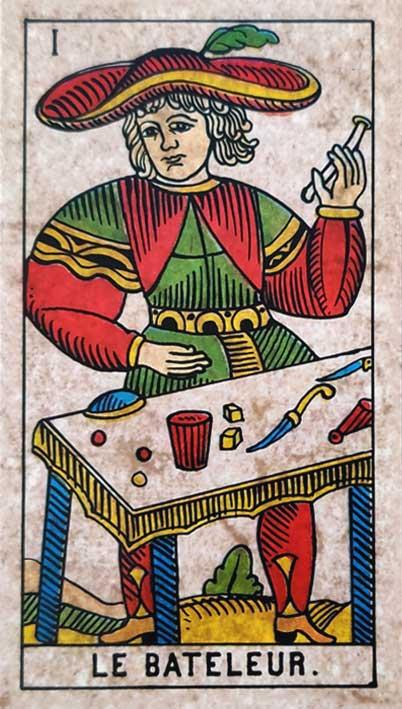 קלף טארוט של מרסיי קלאסי הקוסם