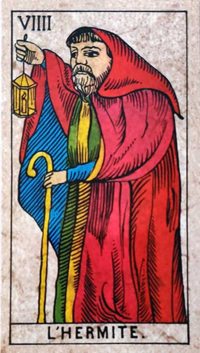 קלף טארוט של מרסיי קלאסי הנזיר