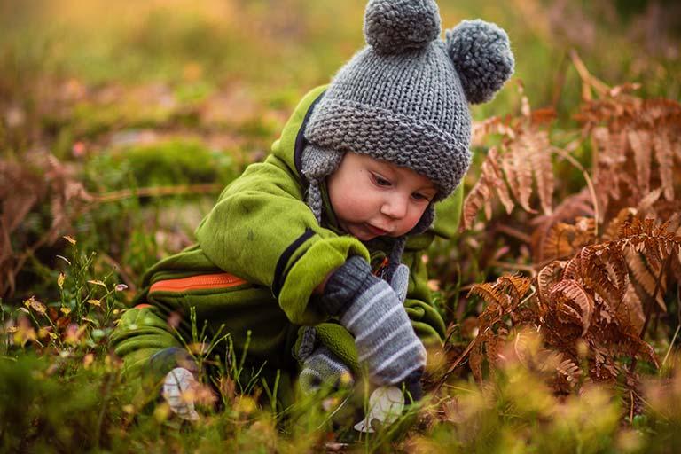 ילד סקרן
