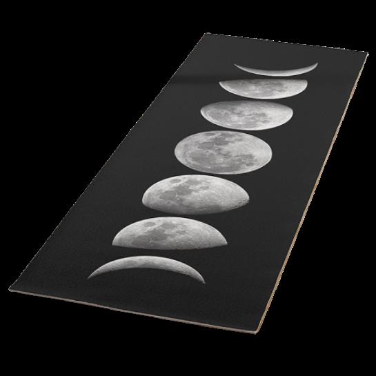Yoga mat - moon cycle